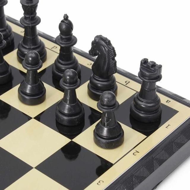 3 en 1 jeu d'échecs en plein air voyage échecs Backgammon pour développement intellectuel 5