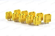 50pcs XT60 Connector Male Female RC Airplane Lipo Battery Connector Free Shipping with tracking