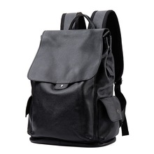 New Mens Leather Large Capacity Backpacks Breathable, Wearable Business Multifunction Computer Bags