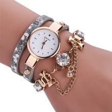 Characters Sleek Stylish Chic Decor quartz watch Women Bracelet Watch top sale good quality relogios femininos wholesale
