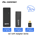 COMFAST usb adaptador wi-fi 600mbps 802.11ac ~ 1750 mbps/b/g/n 2.4 Ghz + 5.8 Ghz Dual Band wi-fi dongle Placa de Rede do computador AC Series