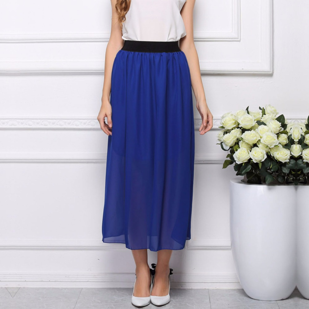 Popular Pleated Maxi Skirt-Buy Cheap Pleated Maxi Skirt lots from ...