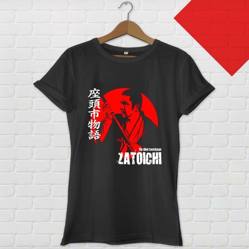 Zatoichi The Hut Group: Printed Shirts Crew Neck Short Zatoichi The Blind