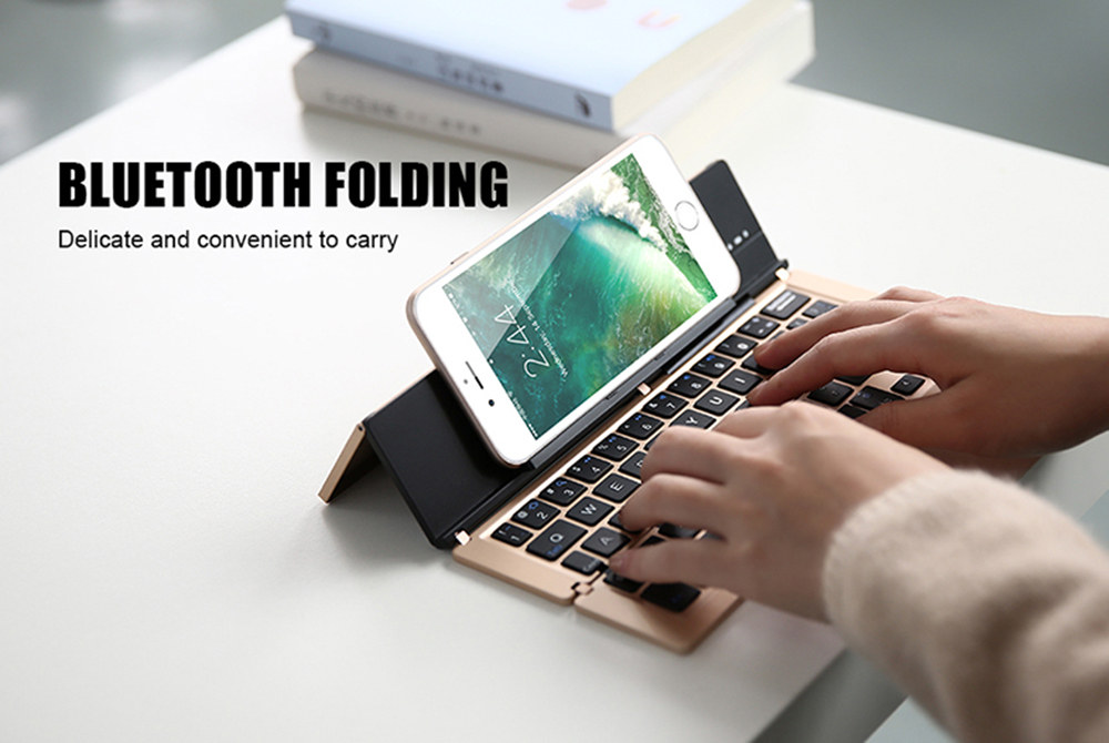 New Foldable and Portable Bluetooth 3.0 Wireless Mini Keyboard
