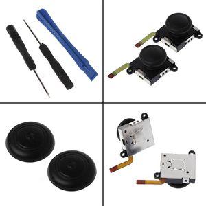 Image 2 - 3D Аналоговый джойстик переключатель Стик контроллер модуль сенсор потенциометр ремонтный инструмент Замена Черный для Nintendo Switch
