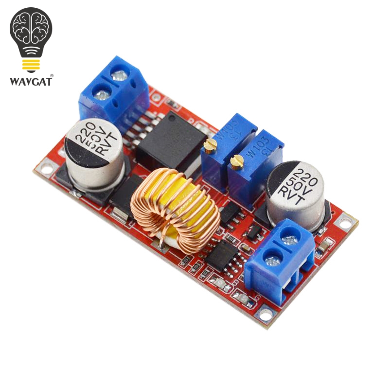 Image 3 - Original 5A DC to DC CC CV Lithium Battery Step down Charging Board Led Power Converter Lithium Charger Step Down Module XL4015-in Integrated Circuits from Electronic Components & Supplies