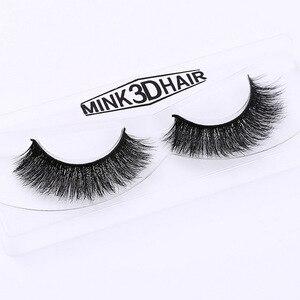 Image 4 - New band DOCOCER Mink Lashes 3D Mink False Eyelashes Long Lasting Lashes Natural & Lightweight Mink Eyelashes 1 pair Packaging
