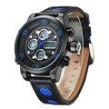 2016 Часы Мужчины Luxury Brand Спорт СВЕТОДИОДНЫЙ Цифровой Часы Хронограф Сигнализация Часы Военные Наручные Часы Relogio Masculino Relojes