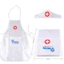 2018 Hot Sale 1set New Arrival Children Play Role Play Doctor Clothing Toys Baby Nurse Doctor Performing Small Holiday Gift