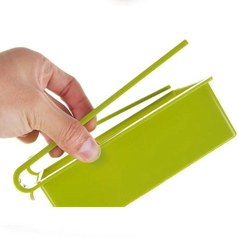 Economic refrigerator storage box fresh spacer layer storage rack creative kitchen supplies twitch type drawer 7