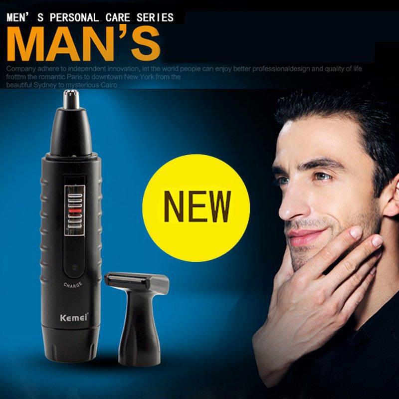 Men and women Ear Nose Face Neck Eyebrow Beard 2 in 1 Trimmer font b Hair