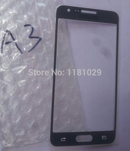 Free Shipping 10pcs lot Touch Panel Screen Glass Lens For Samsung Galaxy A3 A3000 with Logo