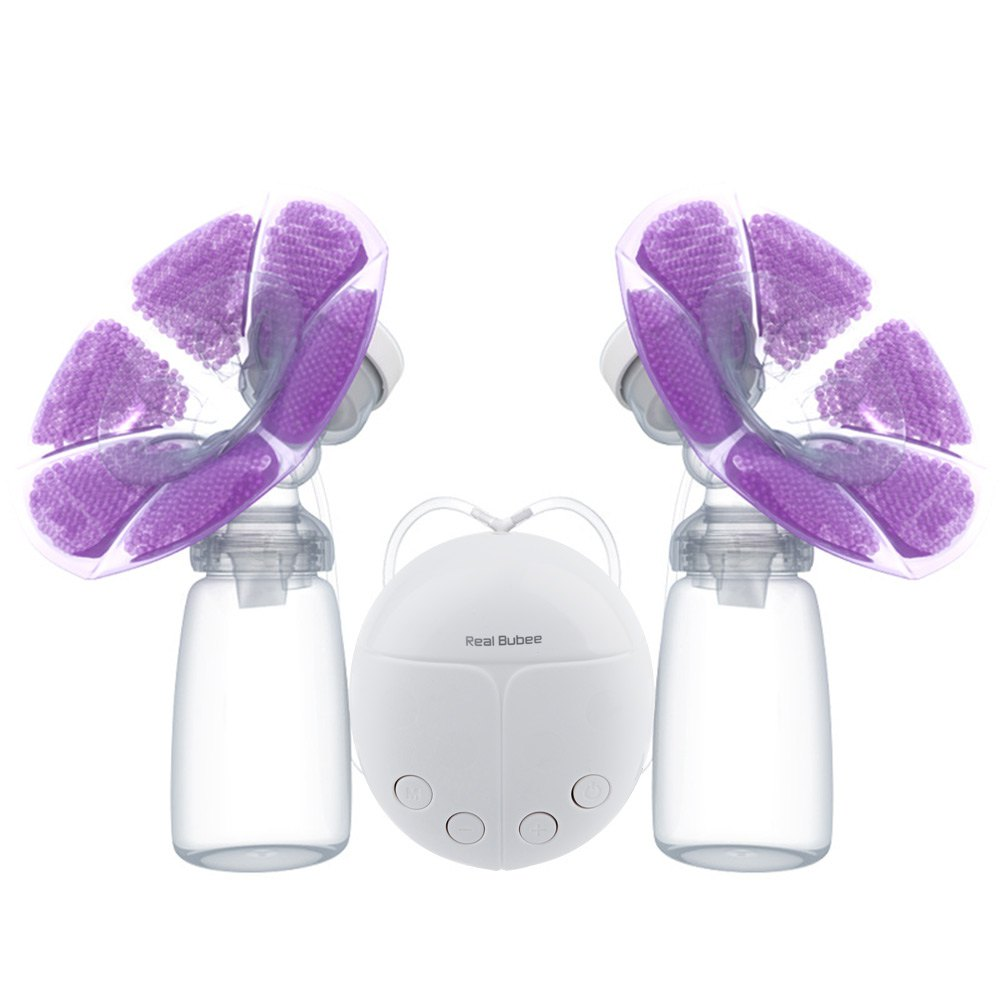 Brand Cold Heat Pad Double Breast Pumps With Milk Bottle -9974