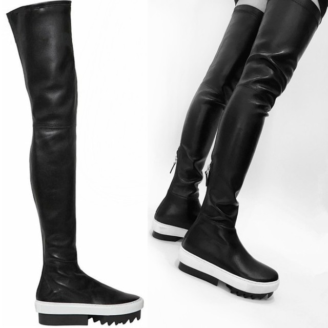 Trendy Fashion Elastic Stretch Over The Knee Thigh High