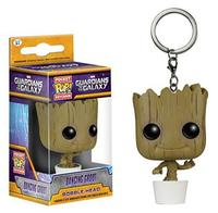 Funko Pop War Guardians Of The Galaxy Dancing Groot Bobble Head Keychain Super Natural Join The