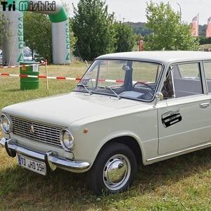 Image 2 - Tri Mishki HZX224 15*19.1cm 1 4 pieces funny car stickers  I have a car vaz 2106 auto car sticker