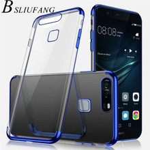 BSLIUFANG Electroplate TPU Soft Case For Huawei P20 Pro P10 Lite P9 Nova 3 3i 3E Mate 20 10 9 Lite Pro Honor 10 8 9 Lite case(China)