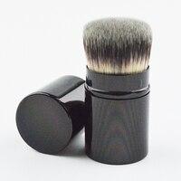 New Style 1pcs High Quality Leftover Retractable Kabuki Blush And Powder Makeup Brushes