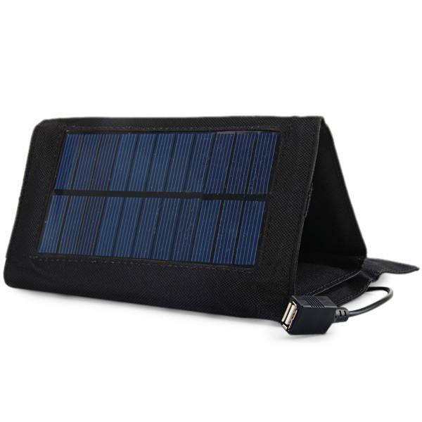 USB folding solar panel