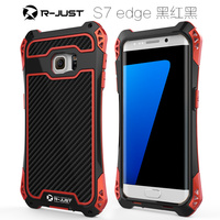 Luxury Doom Armor Dirt Shock 3proof Metal Aluminum Cell Phone Case For Samsung Galaxy S7 S7