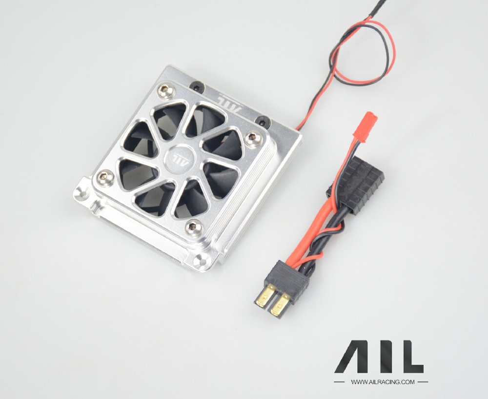 Aluminum alloy upgrade OP cooling fan For Traxxas x maxx aluminum alloy upgrade op cooling fan for traxxas x maxx