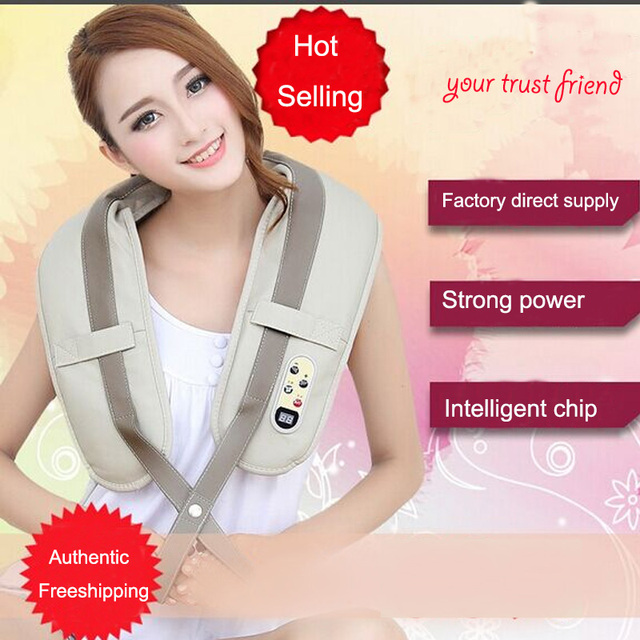 Massage Shawl Neck Shoulder Massage Cape Chinese Massage Instrument powerful copper core Health care Machine