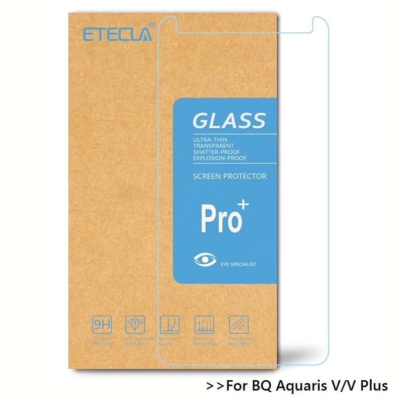 2PCS For BQ Aquaris V Tempered Glass On BQ Aquaris V Plus Glass BQ V / BQ V Plus Screen Protector 0.26mm 9h 9H Glass Film
