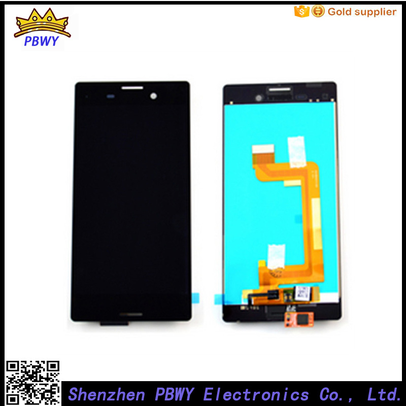 Подробнее о 100pcs/lot 100% original LCD Display Screen touch Digitizer Assembly For Sony Xperia M4 Aqua black black white original lcd display digitizer touch screen glass for sony xperia m4 aqua e2303 e2333 e2353 replacement free ship