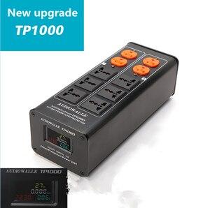 Image 4 - 2018/ TP1000 новый высококачественный аудио фильтр шума, 3000 Вт AC кондиционер, силовой фильтр, очиститель питания, светодиодный дисплей напряжения