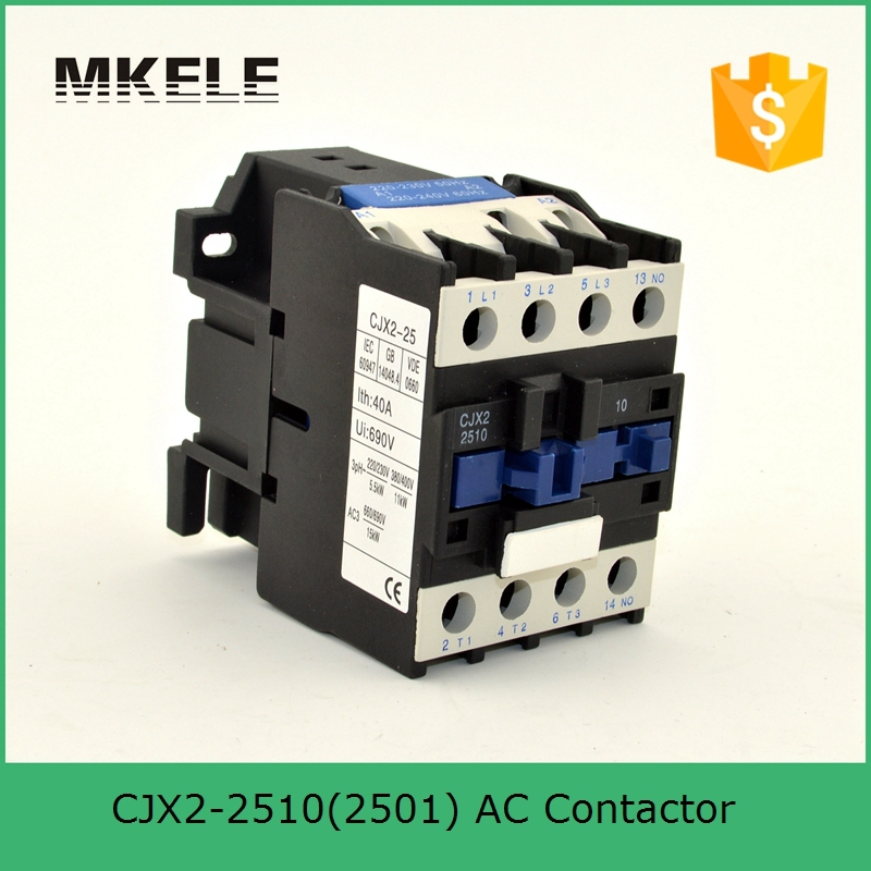 CJX2-2501 3P+NC 25A Telemecanique Ac Contactor Coil 380V 220V Telemecanique Contactor With Silver Contacts sayoon dc 12v contactor czwt150a contactor with switching phase small volume large load capacity long service life