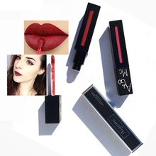 AIGOMC Nude Matte Lipstick Long lasting Waterproof Lips Makeup Liquid 12 color Lip gloss cosmetic
