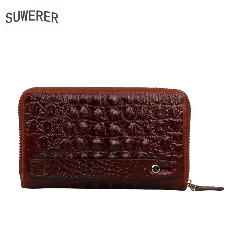 Homens bolsas De Couro genuíno para homens homens sacos de 2019 novas bolsas de luxo designer de couro mens carteiras e bolsas Envelope embreagem saco - 4