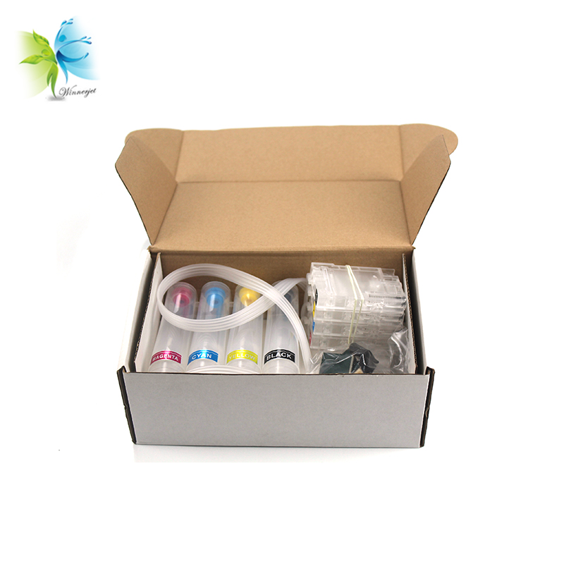 Winnerjet Empty 953 CISS Ink Supply System with Auto Reset Chip Replacement for Hp 953Winnerjet Empty 953 CISS Ink Supply System with Auto Reset Chip Replacement for Hp 953