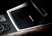 Для BMW X5 E70 2009 2010 2011 2012 2013 стайлинга Автомобилей держатель стакана воды декоративная крышка накладка 1 шт.