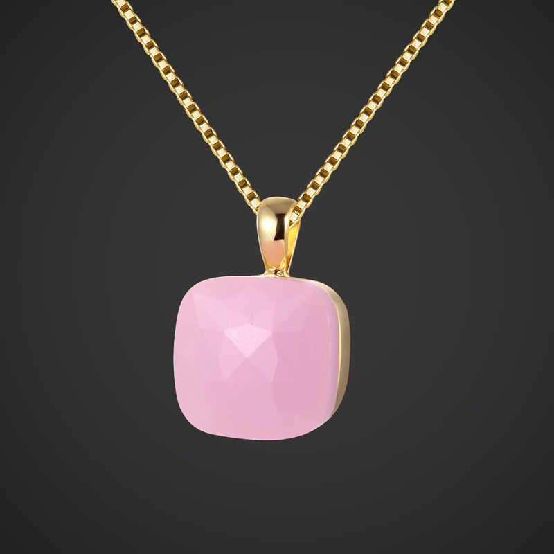 Zlxgirl marka elegancki różowy opal Rhinestone biżuteria ślubna dla nowożeńców zestawy Metal miedź złoty kolor naszyjniki kolczyki pierścień bijhoux