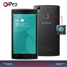 Original doogee x5 max pro teléfono 5.0 pulgadas 2 gb de ram 16 GB ROM Android 6.0 MTK6737 Huella Digital 4000 mAh Quad Core 1.3 GHz Smartphone