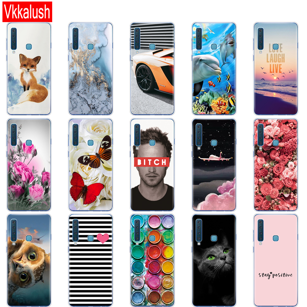 Image 4 - For Samsung Galaxy A9 2018 Case Samsung A9 2018 Cover Silicon TPU Phone Case For Samsung A9 A920F A920 SM A920F Cover shell-in Fitted Cases from Cellphones & Telecommunications