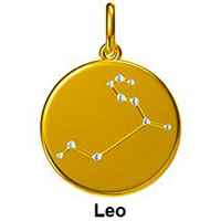12 Constellation Pendant Necklaces Real 18K 750 Yellow Gold Natural Diamond Zodiac Sign Chain Necklace Jewelry For Women Girl 18K Gold Fashion Jewelry Jewelry and Watches Metal Type Necklace Necklace & Pendant Pendant Rose Gold White Gold Yellow Gold Zodiac Sign Pendant Gem Color: Leo Length: 18K Yellow Gold