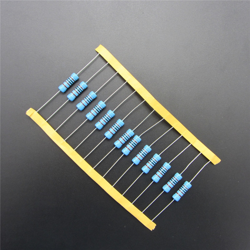 Metal Film <font><b>Resistor</b></font> 3W Watts <font><b>3k</b></font> <font><b>ohm</b></font> +/- 1% RoHS Lead Free (10pcs) DIY KIT PARTS <font><b>resistor</b></font> pack resistance image
