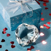 Choice Crystal Collection Heart Design Crystal Paperweight Baby Party Gift&Bridal Shower Favors