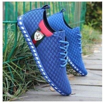Luz caliente 2017 Nueva Moda de Los Hombres Zapatos de Conducción Hombres Bajo P