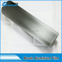 brushed stainless steel car wrapping vinyl coating / protect film car body