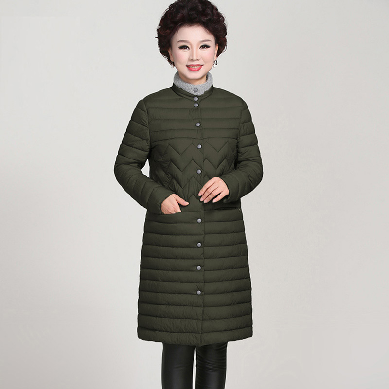 2017 Free Shipping New Autumn Winter Coat Design Padded Down Cotton Plus Size Slim Jacket Middle-Age Women Fashion Coats YP0564 2017 free shipping new autumn winter long down big fur coat padded slim women fashion high street coats