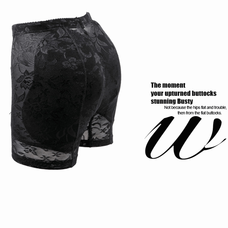 Push Up Butt Lifter Panties Fake Butt And Hip Enhancer Pads Fake Ass Butt Shaper Lace Shapewear For Buttocks Women Control Panty in Control Panties from Underwear Sleepwears