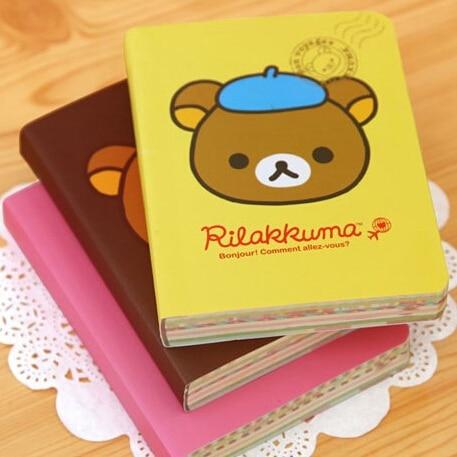 Trustful New Cute Cartoon Rilakkuma Style Diy Mini Notebook/notepad Memo/diary Wj0205 Jade White Notebooks & Writing Pads Office & School Supplies