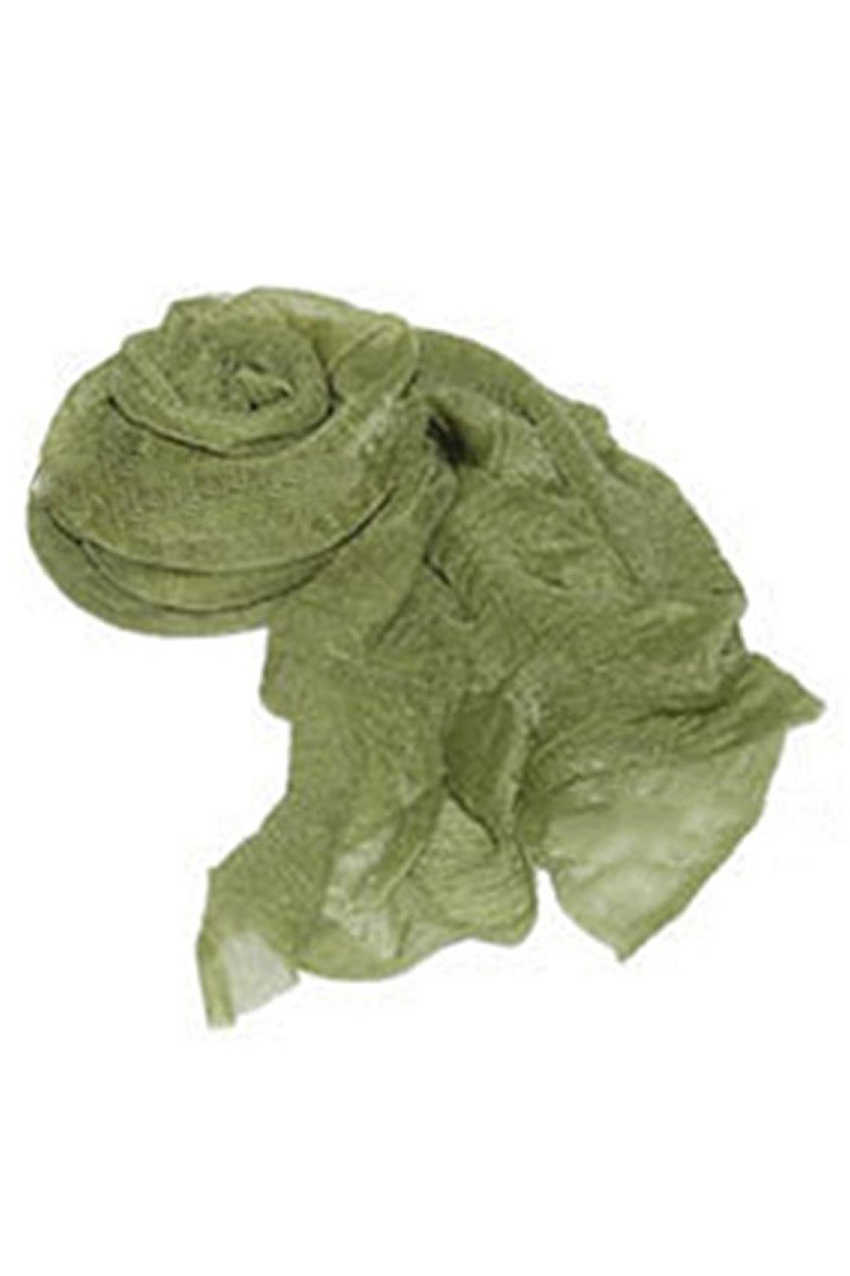 SAF-Women's Fashion Candy Colour Soft Scarf Wrap Shawl Stole Olive Green