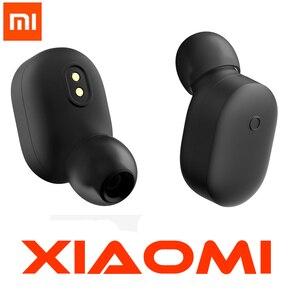 Image 1 - Xiao mi bezprzewodowe słuchawki Bluetooth mini zestaw słuchawkowy Bluetooth 4.1 Xiao mi mi LYEJ05LM słuchawki wbudowany mi c z rąk pakiet wyboru