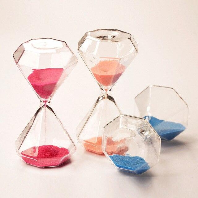 Diamant Sand Uhr Jewel Sand Glas Hochzeitsgeschenke Hause New Home