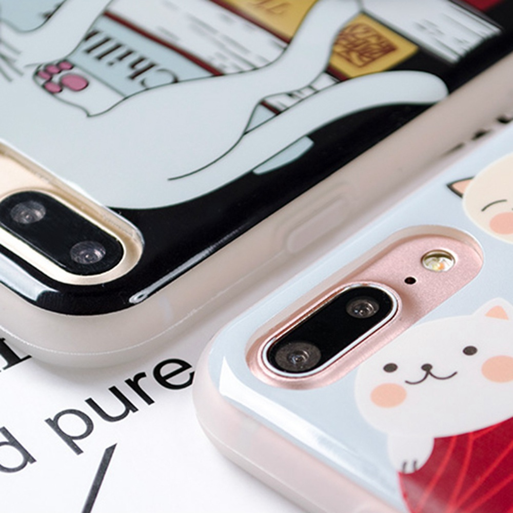 Squishy 3d cat phone case - Cute Squishy 3d Cat Phone Case For Iphone 6 6s Case Soft Kitty Claw Seal Silicone Cover For Iphone 6 Plus Kneading Tpu Fundas In Fitted Cases From