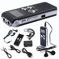 Levert DropshipDel 8 GB Drive USB Digital Audio Gravador de Voz Ditafone Recarregável MP3 Player EUA De Outubro de 06